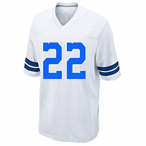 22 Emmitt Smith Kid's Jersey White Medium