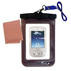 underwater case for the HTC Magician Smartphone - weather and waterproof case safely protects against the elements