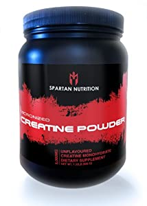 Micronized Creatine Monohydrate Powder - 600g Unflavored Post Workout Muscle Building Supplement