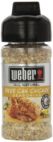 Weber Grill Beer Can Chicken Seasoning, 2.85-Ounce (Pack of 6) (Beer Can Chicken Seasoning compare prices)