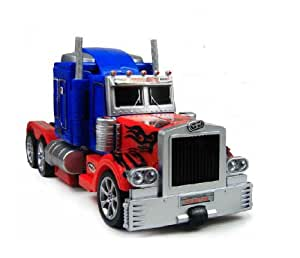 Fengyuan Radio Control Robot Toy Transformers Optimus Prime Truck Car Rc Toys +English Original Package+Expedited Shipping