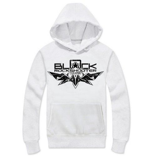 BRS Black Rock Shooter Cosplay Costume White Hoodie Size M