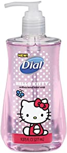 Dial Hello Kitty Liquid Hand Soap, Orange Blossom, 9.375 Ounce