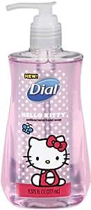 Dial Liquid Hand Soap, Hello Kitty, 9.375 Ounce