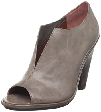 Luxury Rebel Women's Erin Peep-Toe Bootie, Deep Taupe, 37.5 EU/7.5 M US