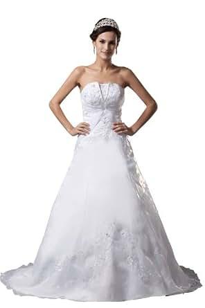 Herafa Wedding Dress Elegant NOw35154 Amazon Fashion