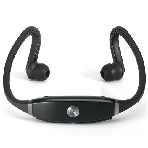 Motorola S9-Hd Bluetooth Motorokr/Motoactiv Stereo Headset (Gloss Black) [Retail Packaging]