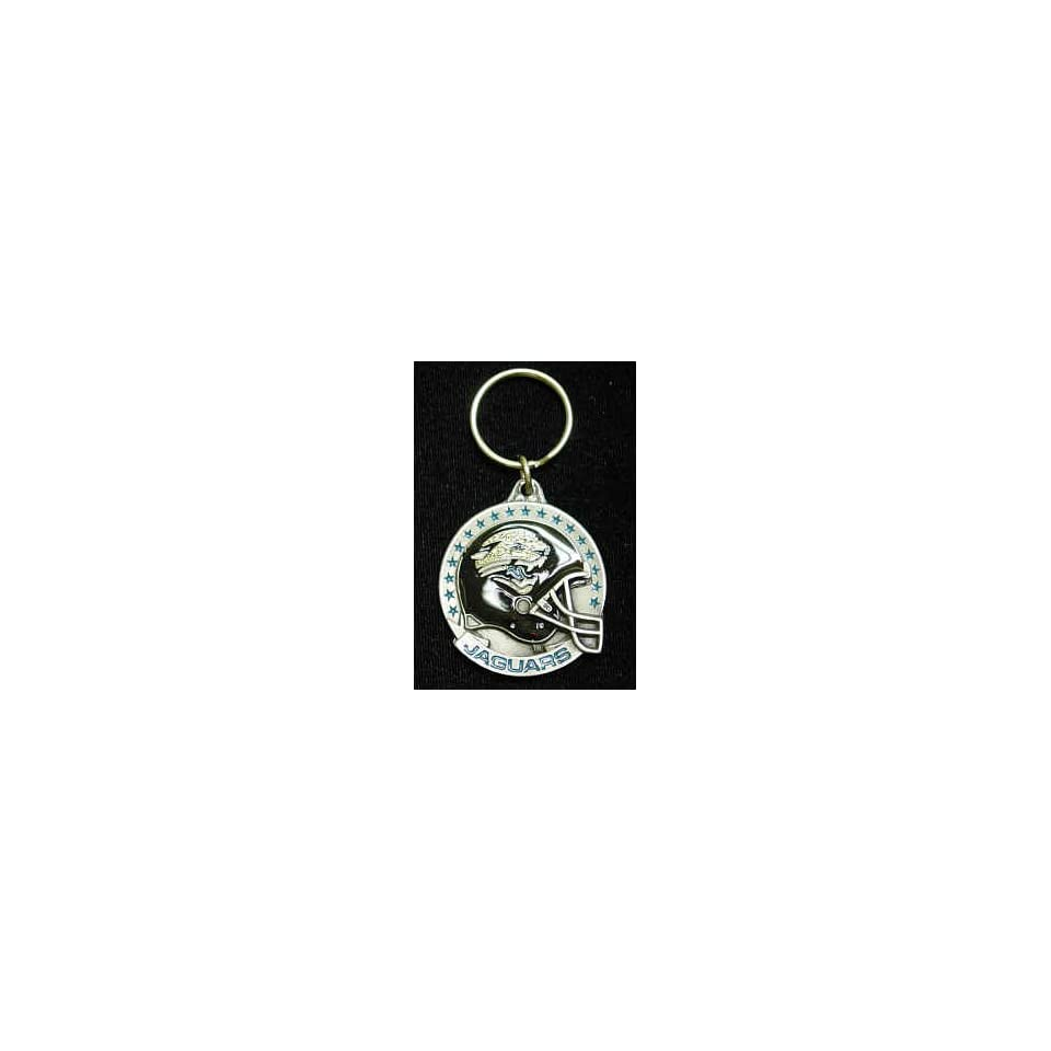Jacksonville Jaguars Team Helmet Key Ring