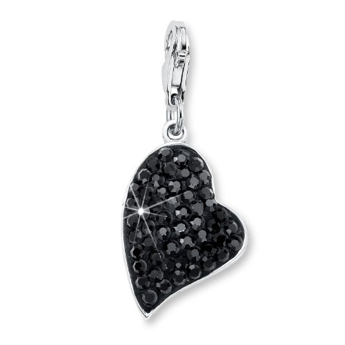 Amor Jewelry 418447  Crystal Sterling Silver 925 Charm