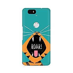 Mobicture Pattern Premium Designer Mobile Back Case Cover For Huawei Nexus 6P