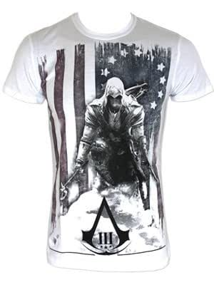 Assassin's Creed III -L- White, Burned Flag