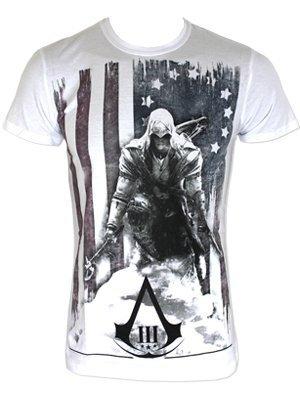 Assassin's Creed III -L- White, Burned Flag