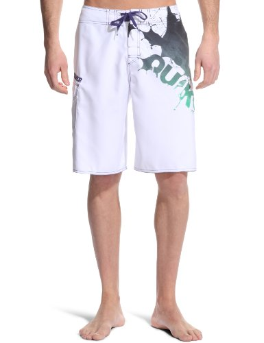 Quiksilver Big Machine 22BS Men's Swim Shorts White X-Large