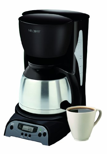 Mr. Coffee DRTX85 8-Cup Thermal Coffeemaker, Black