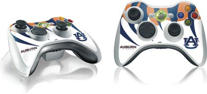 Skinit Auburn Tigers Vinyl Skin for 1 Microsoft Xbox 360 Wireless Controller