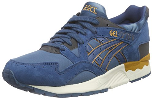 ASICS Gel-lyte V, Unisex-Erwachsene Sneakers, Blau (legion Blue/legion Blue 4545), 43.5 EU thumbnail