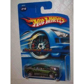 #2006-216 Overbored 454 2006 Card Collectible Collector Car Mattel Hot Wheels 1:64 Scale - 1