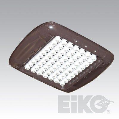 Eiko Led Area Street Light Sq Pole Fixture Nichia 219 50 Watts (100-150 Watts Equal) 5000K (Cool White) Bronze Finish