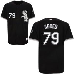 Jose Abreu Chicago White Sox Alternate Black Authentic Jersey by Majestic by Majestic