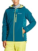 Columbia Chaqueta Dutch Hollow Hybrid (Verde Agua)