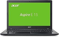 Acer Aspire E 15 (E5-575-3992) 39,6 cm (15,6 Zoll Full HD) Notebook (Intel Core i3-6157U, 8GB RAM, 128GB SSD + 1TB HDD, Intel Iris Graphics 550, DVD, Win 10 Home) schwarz