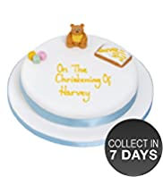 Blue Bear Celebration Sponge Cake