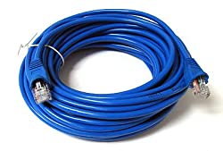 Importer520 150ft 50m Blue 150' Ft Rj45 Cat5 Cat5e Ethernet Lan Network Internet Computer Patch Cable