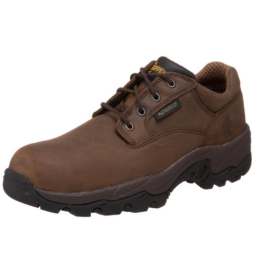 Chippewa Men's 55158 IQ Composite-Toe Waterproof Oxford,Bay Apache,11.5 XW US