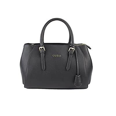 Guess Sissi Box Satchel, Sacs à Main Femme, Taille Unique