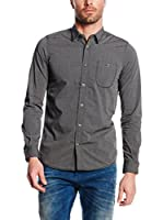 Tom Tailor Camisa Hombre (Gris)