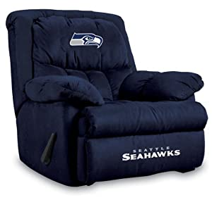 NFL Seattle Seahawks Home Team Microfiber Recliner by Imperial
