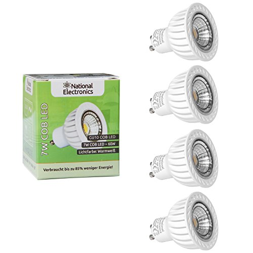 national-electronics-gu10-cob-led-7-w-560-lumens-60-4-pack-bombilla-prolongan-60-w-halogena-230-v-lu