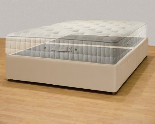 Buy Tiffany 4 Drawer Queen Platform Bed Storage Mattress Box Beige Cal King Pinockioshopa