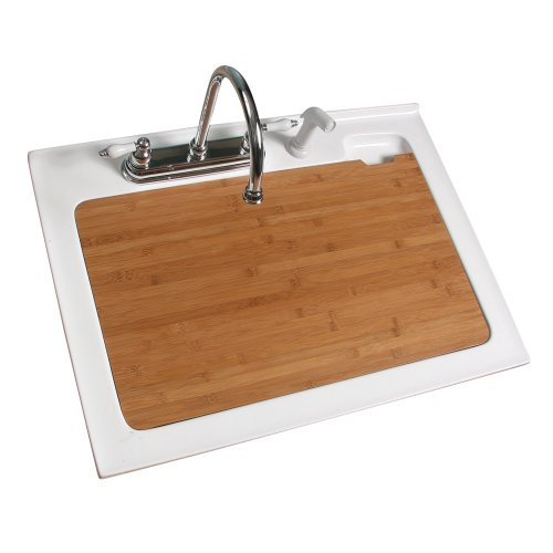 Utility Sink With Cover : Foremost LSBC-3021 Bamboo Cover for 30-Inch Laundry Sink - Bathroom ...