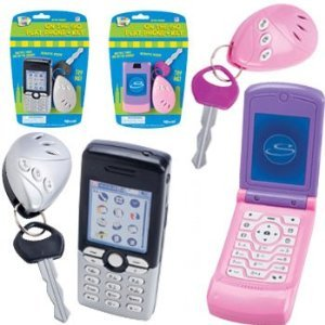 Lets Go Set: Play Cell Phone and Play Car Key Alarm - Assorted Colors
