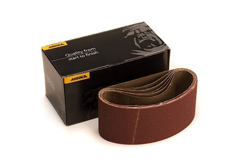 Mirka 57-2.5-14-150 2.5-Inch by 14-Inch Portable Abrasive Belt by weight Cloth 5 pieces