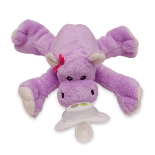 Paci-Plushies Shakies - Hippo Rattle front-143641