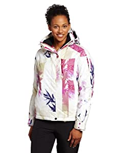 Salomon Women's Exposure Jacket, Dark Violet Blue/Fancy Pink, Medium
