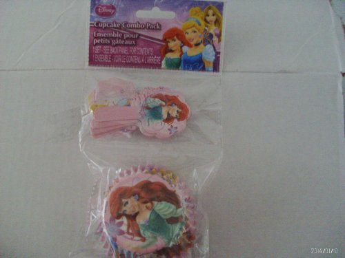 Disney Princess Cupcake Combo Pack