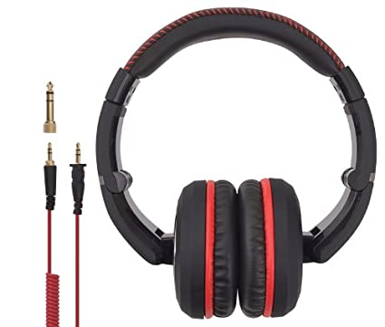 Vibe BlackDeath Over the Ear Headphones