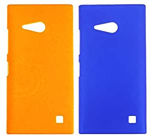 Winsome Deal Hard Back Cover Case for Nokia Lumia 730 (Pack Of 2)
