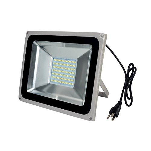 100W LED Floodlight,Low-energy Cool White Spotlight,IP65 Waterproof Outdoor&Indoor Security Flood Light Landscape Lamp (100w Led Flood Light compare prices)