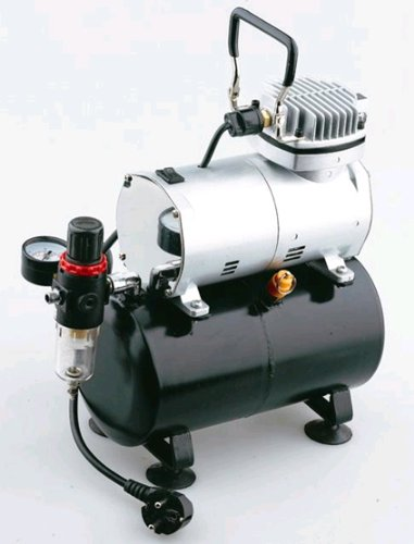 airbrush mini compressor model as186 with air tank reviews air compressor store. Black Bedroom Furniture Sets. Home Design Ideas