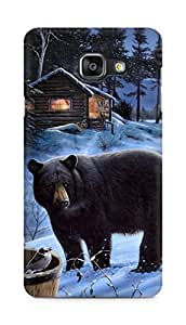 Amez designer printed 3d premium high quality back case cover for Samsung Galaxy A5 (2016 EDITION) (Bear)