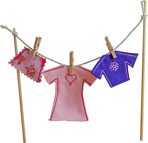 Irish Fairy Clothes Line with Female Clothes - 1