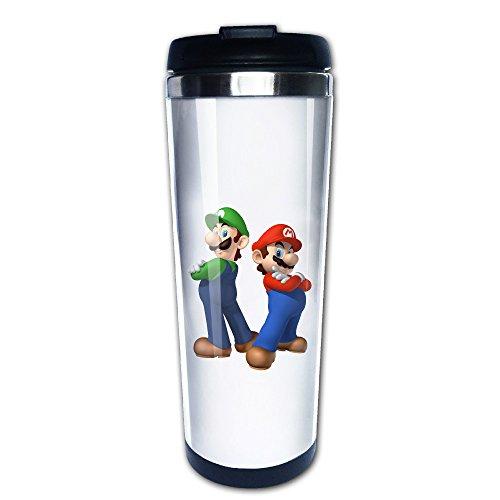 Super Mario Bros Nintendo Princess Toadstool Travel Mugs Coffee Tumbler Cute Cups (Toadstool From Mario)