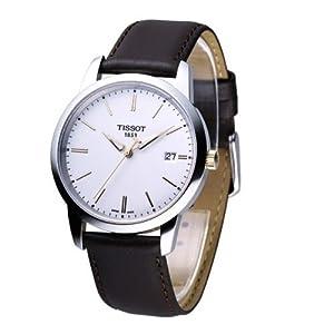 Tissot Men's TIST0334102601100 Class Dream White Dial Watch