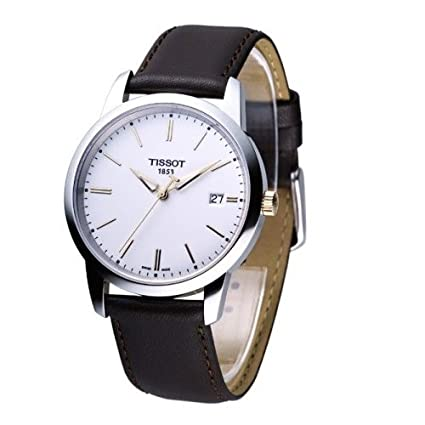 Tissot Men's TIST0334102601100 Class Dream White Dial Watch-奢品汇 | 海淘手表 | 腕表资讯