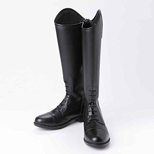 ジョッパーズ 2016SS 合皮ロングブーツ ブラック EU39 W 【乗馬用品】【馬具】【201605】