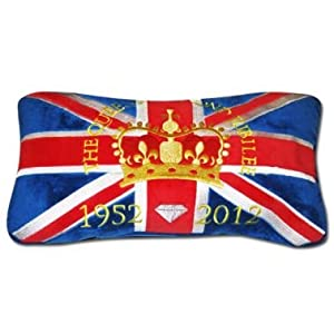 Queen Elizabeth II Diamond Jubilee Travel Cushion